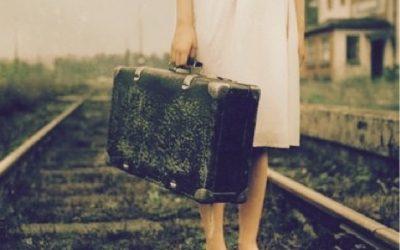 Con la maleta a cuestas