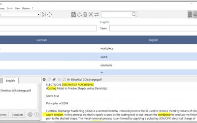Herramientas de gestión terminológica para intérpretes